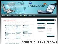 Katalog stron firmowych - FIRMOWEwww