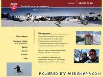 Instruktor narciarstwa Maciej Gąsienica